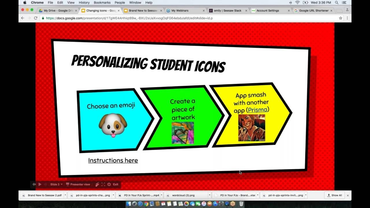 Seesaw Sprint Changing Student Icons Seesaw