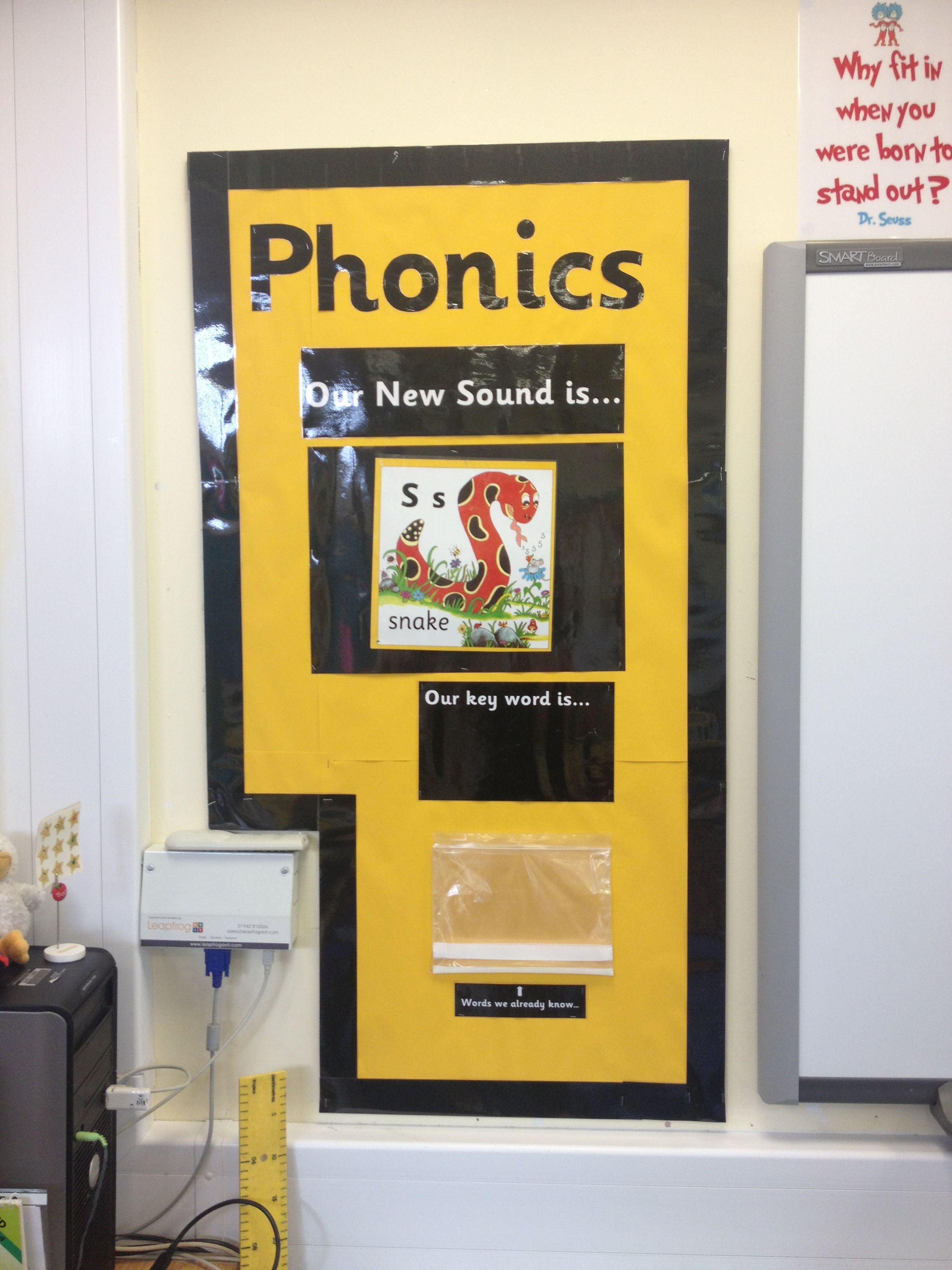 Phonics working wall | Projects to Try | Pinterest | Working wall ...