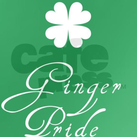 Find more cool Irish Gifts via http://www.AmericasMall.com/shopirish-creative-authentic-irish-gifts #irishgifts #gifts #shopirish Ginger Pride - St Patricks Day T-Shirt on CafePress.com