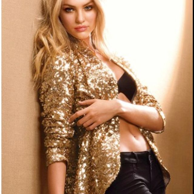 Vicky secret sequin blazer