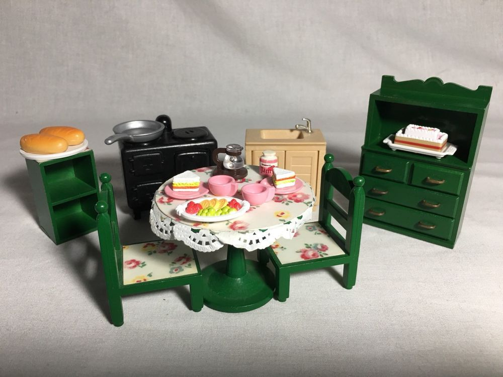 Epoch Calico Critters Families Sylvanian furniture toilet set Ka-606 JAPAN