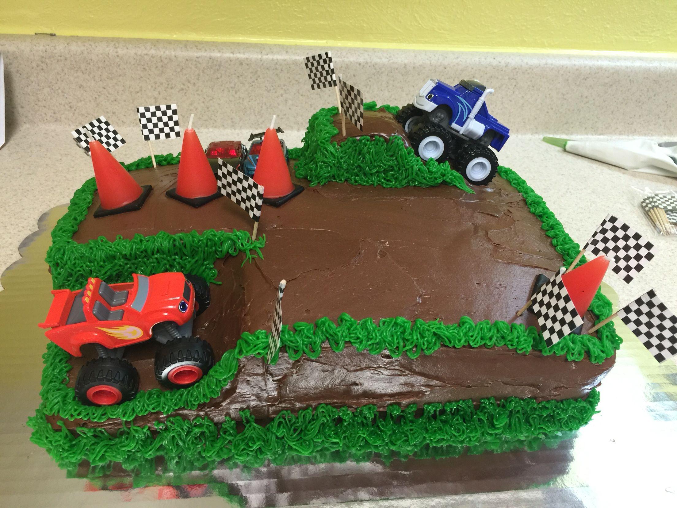 Blaze Cake Blaze Birthday Cake Birthday Desserts Childrens