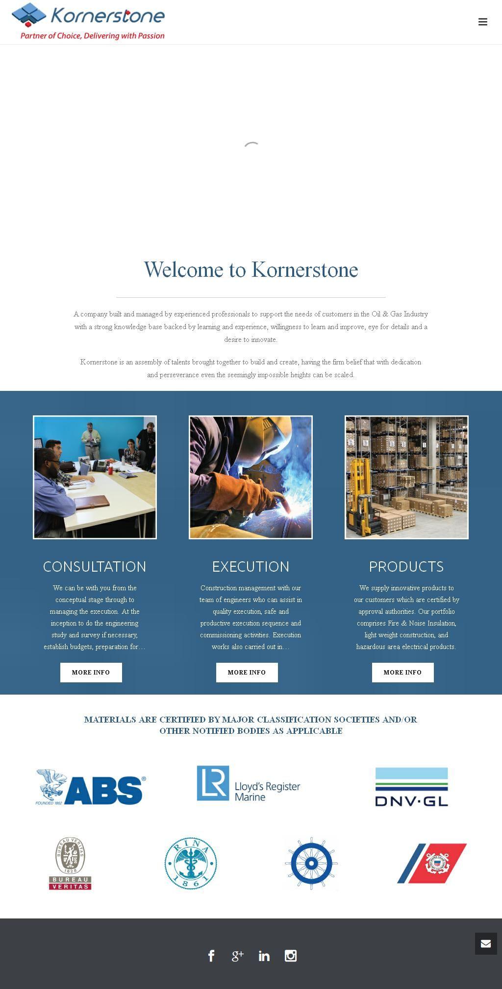 Kornerstone Engineering Service Company Ibn Battuta Gate
