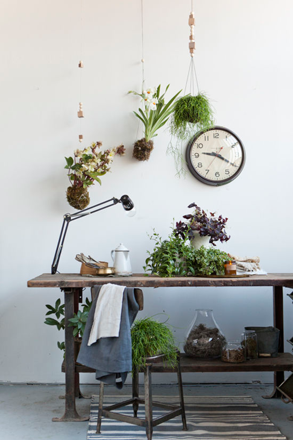 play with your plants no 1 inspirations diy hanging planter hanging plants et hanging planters. Black Bedroom Furniture Sets. Home Design Ideas