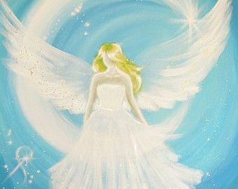 Limited Angel Art Photo Modern Angel Painting Artwork Acrylics