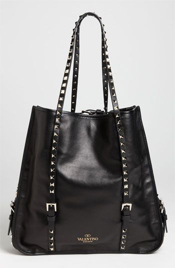 Valentino 'Rockstud' Leather Shopper | my latest addition to my closet of goodies!