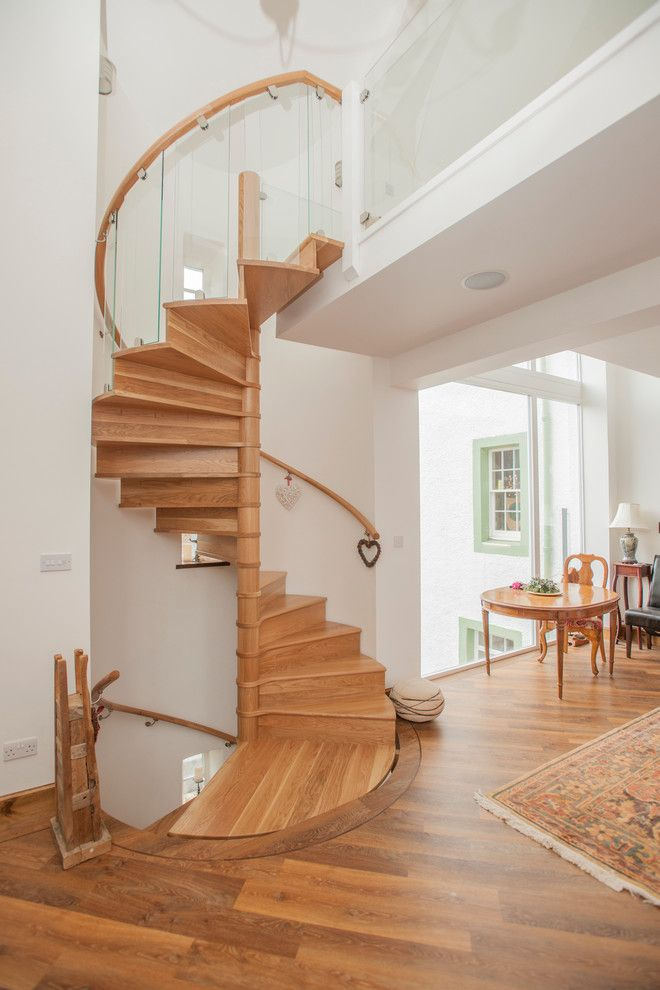 Best Wooden Spiral Staircase Contemporary Staircase With 400 x 300