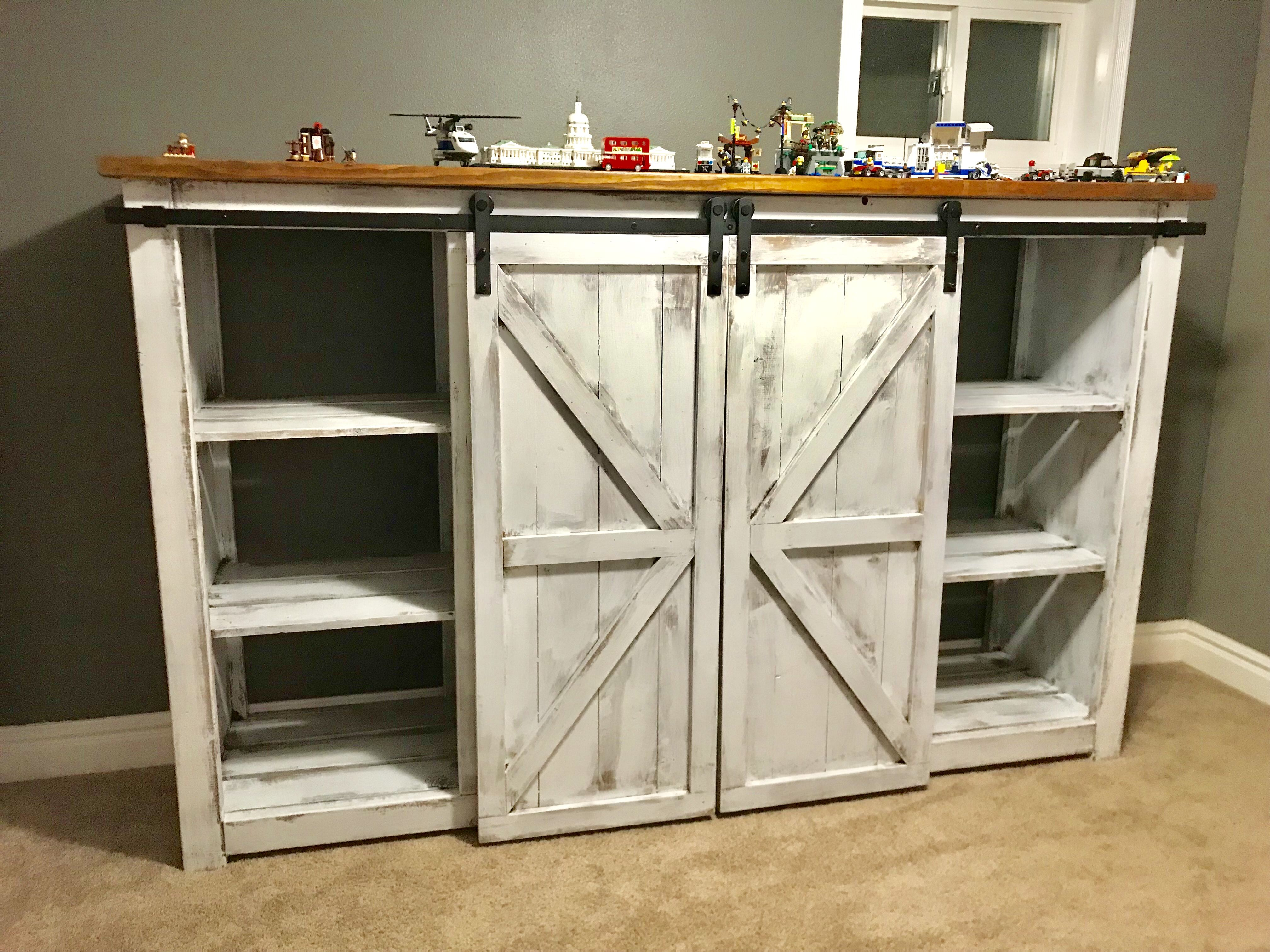 This Was Specially Made For Kids Toys Sliding Barn Doors With
