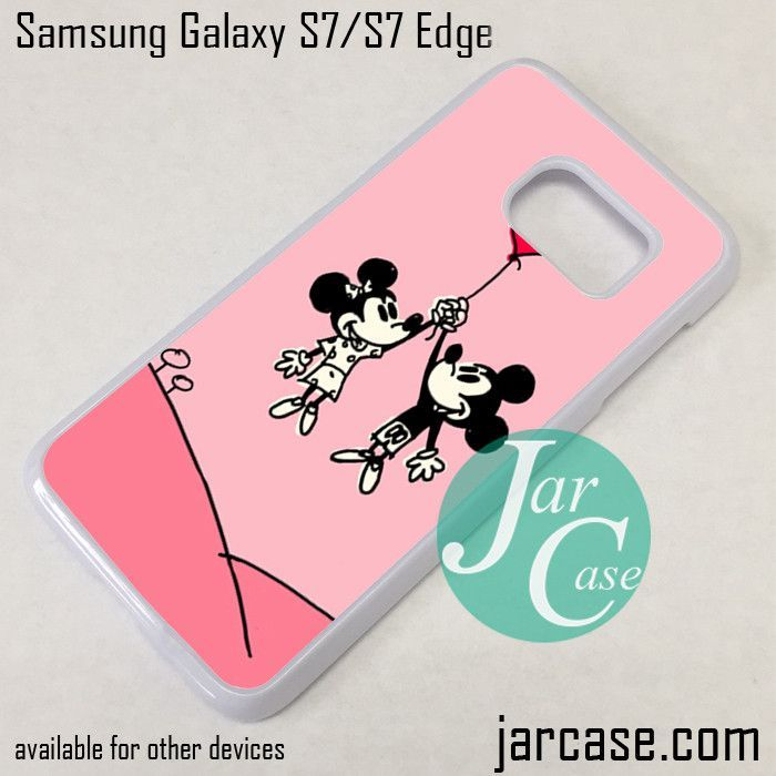 Couple Disney Mouse Phone Case for Samsung Galaxy S7 & S7