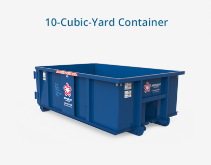 10 Cubic Yard Container Dumpster Rental Small Remodel Republic Services