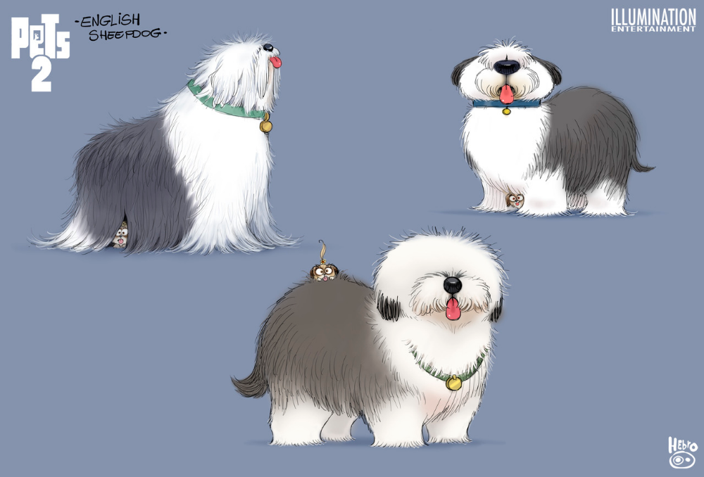 The Secret Life Of Pets 2 Character Design Collection Secret Life Of Pets Character Design Cartoon Animals