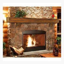 Wood Beam Mantle 72 Rustic Pine Fireplace Mantel Shelf