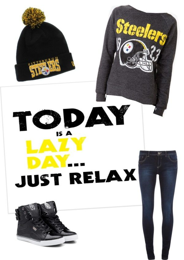 """Steelers"" by jmknight80 ❤ liked on Polyvore"