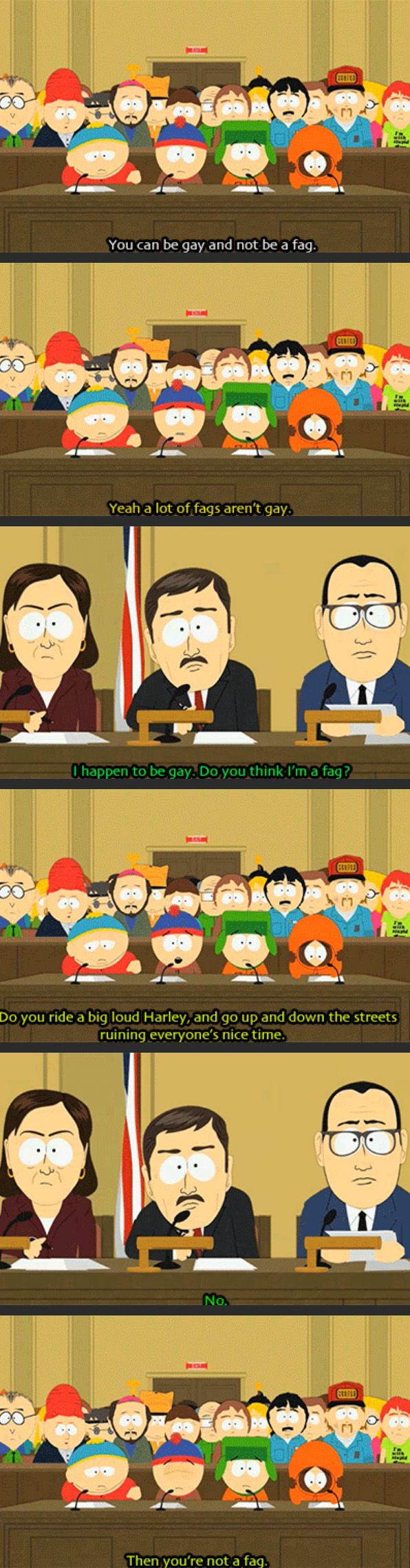 South Park making sense... and I forgot what episode this is, someonw plz tell me!