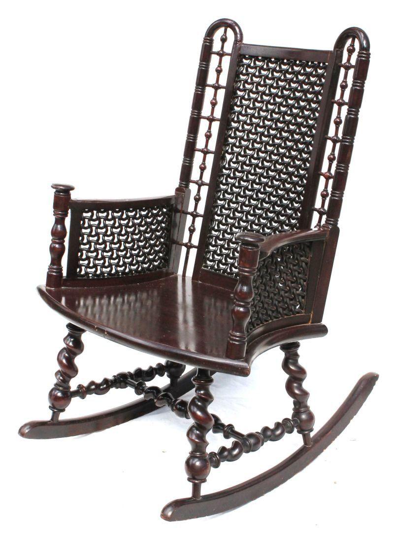 Brilliant Rare Form Late 19Thc Hunzinger Or Merklen Bros Chair On Machost Co Dining Chair Design Ideas Machostcouk
