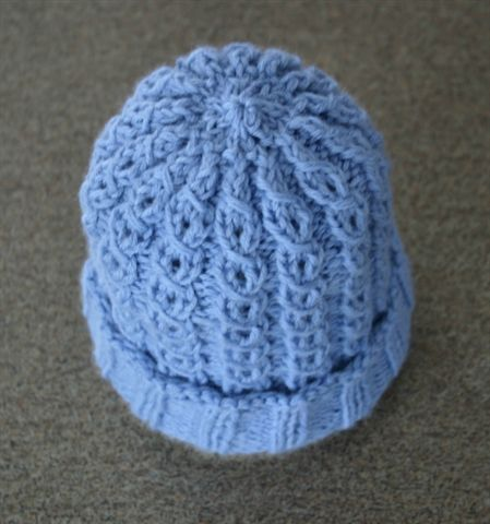 Mock Cable Baby Hat By Bonnie Brann Knitting Charity Knitting