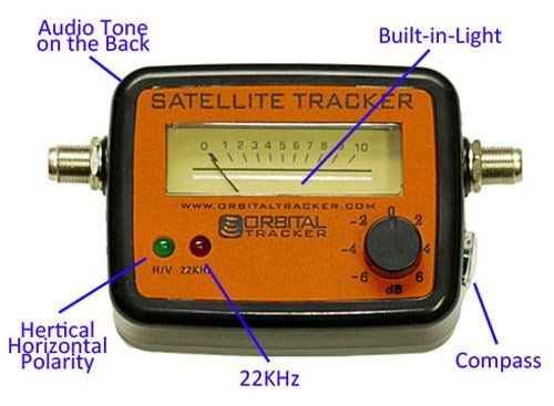 OTM 100 Satellite Finder Signal Meter FTA Directv Dish