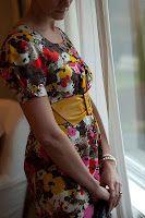 floral dress  Erin Meschke design