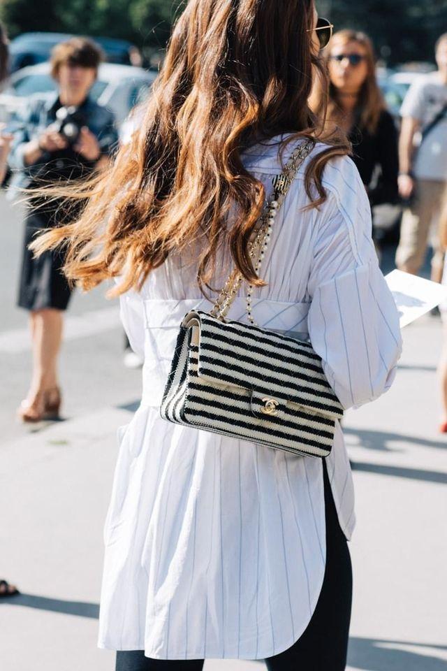 Street style à la Fashion Week haute couture automnehiver