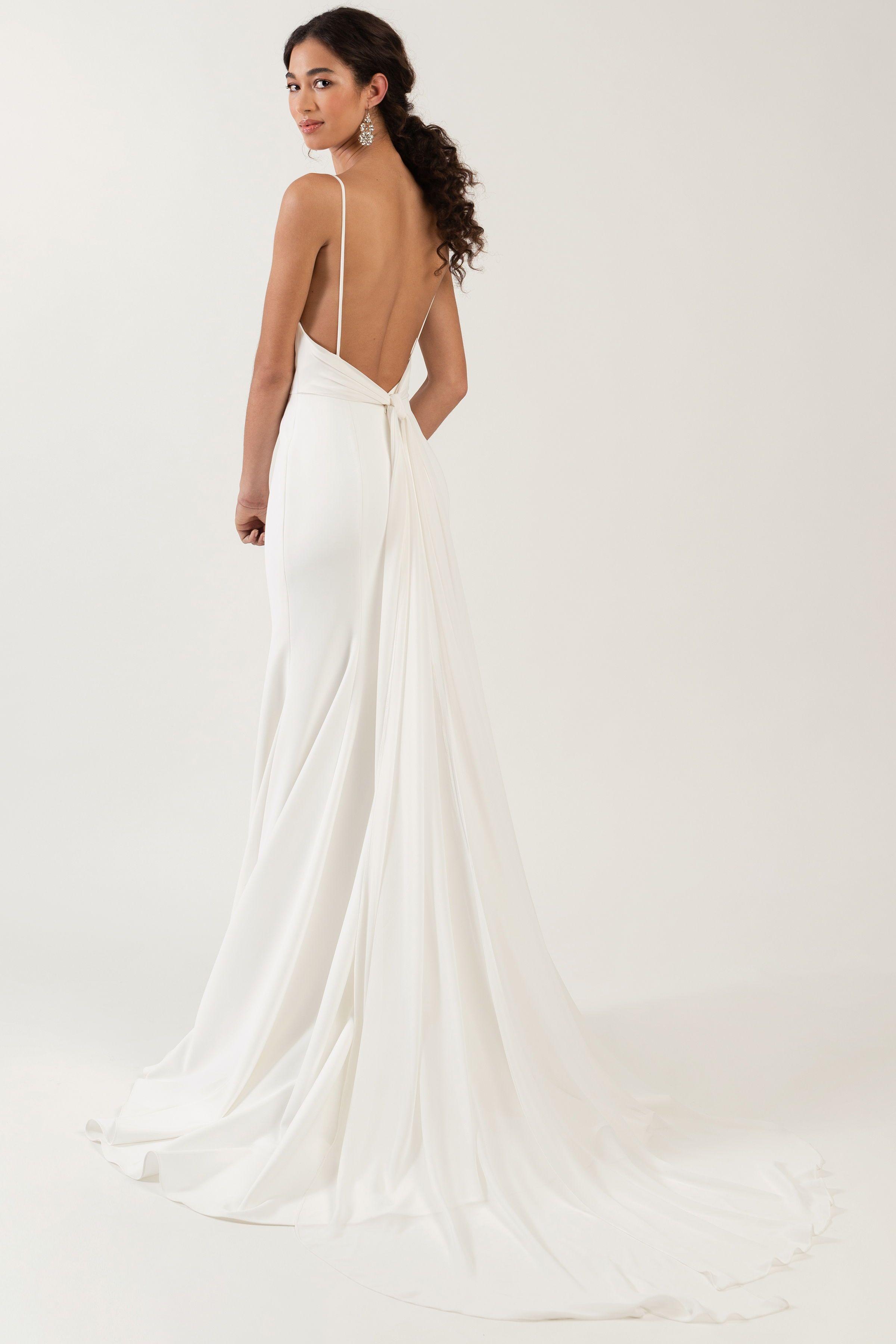 The Top 8 Wedding Dress Shapes And Silhouettes Defined Minimalist Wedding Dresses Elegant Wedding Dress Classic Wedding Dress [ 1233 x 822 Pixel ]