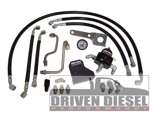 Driven Diesel 7.3L Fuel Bowl Delete Regulated Return Fuel