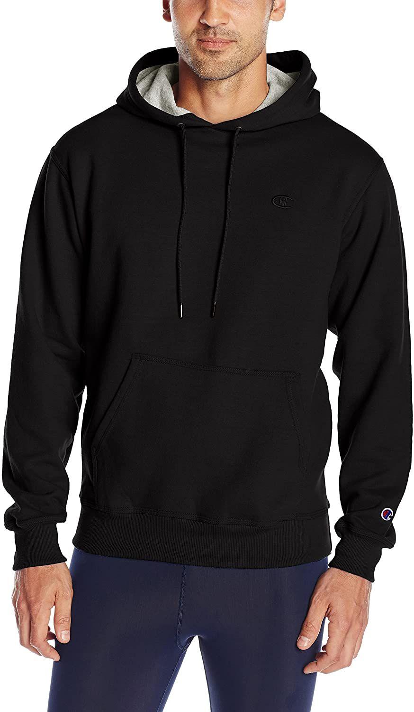 Champion Men S Powerblend Fleece Pullover Hoodie In 2021 Hoodies Fleece Hooded Sweatshirt Fleece Pullover [ 1500 x 874 Pixel ]