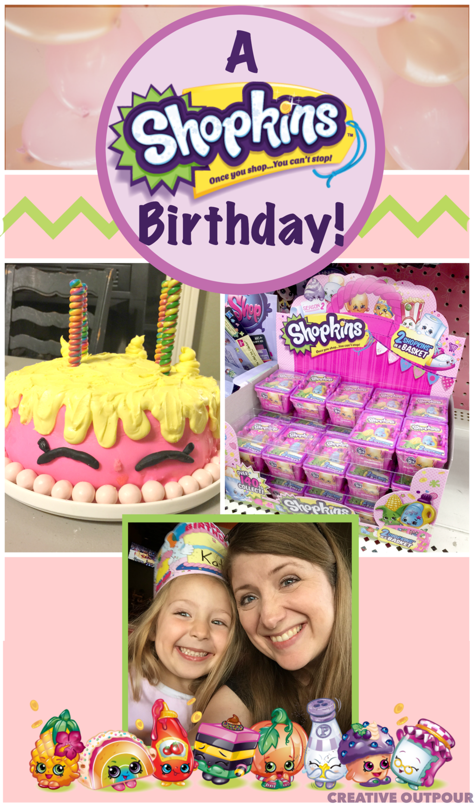 A shopkins birthday party with free invitation printable a shopkins birthday party with free invitation printable shopkins stopboris Gallery