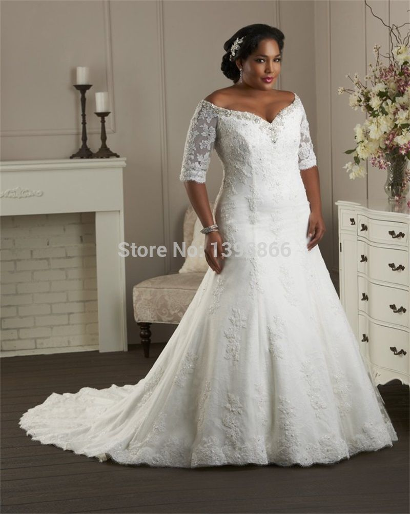 wedding dresses for fat womens - Google Search  96228315f6