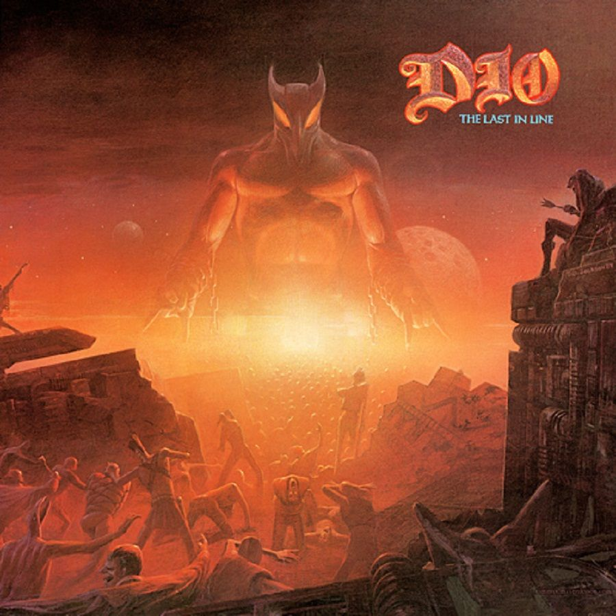 Dio The Last In Line Rock N Roll Album Covers The Last