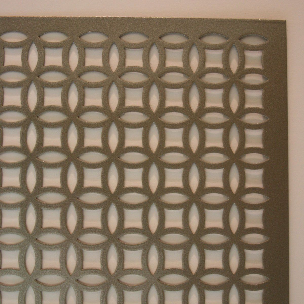 M D Building Products 57010 1 Feet By 2 Feet 020 Inch Thick Elliptical Aluminum Sheet Perforated Sheet M M D Building Products Aluminium Sheet Floor Molding