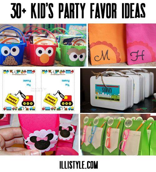 30 kid s party favor ideas diy ideas pinterest diy party fun
