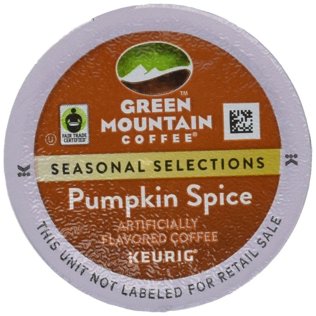 Green mountain coffee fair trade pumpkin spice kcups for