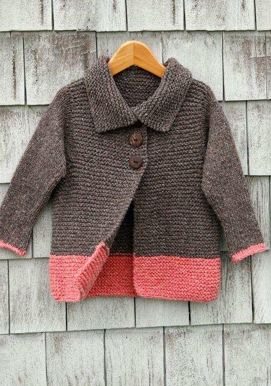 Top Ten Sweater Patterns for Beginners | Pinterest | Dos agujas y Tejido