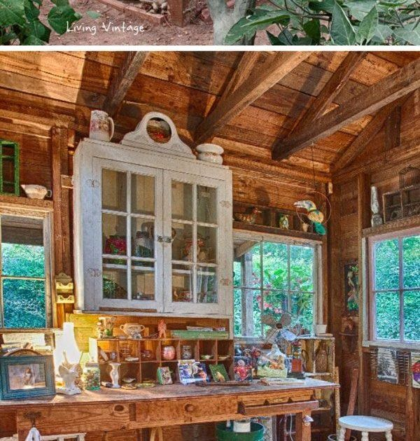 Photo of Amazing She Shed Ideas This multipurpose she shed is the perfect trade-off betwe…