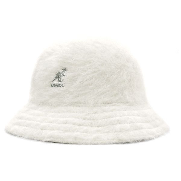 bcecc820fa67e KANGOL Hat アンゴラカジュアル white KANGOL FURGORA CASUAL WHITE  HA ( 80) ❤ liked on  Polyvore featuring accessories