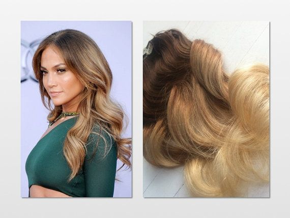 Jennifer lopez inspired ombre clip in hair by ninascreativecouture jennifer lopez inspired ombre clip in hair by ninascreativecouture 24500 pmusecretfo Choice Image