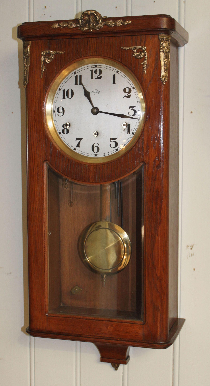 e58e4016511 Antique Westminster Chime Wall Clock