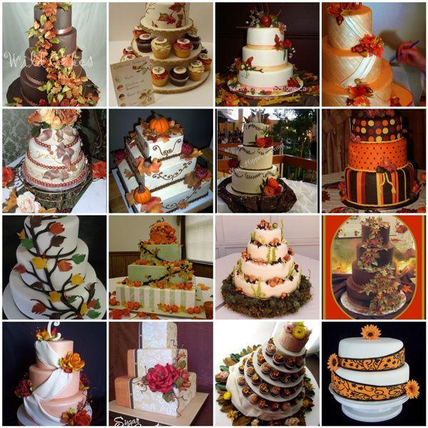 Autumn Wedding Ideas Autumn Wedding Cakes Themed Wedding Cakes Fall Wedding Cakes