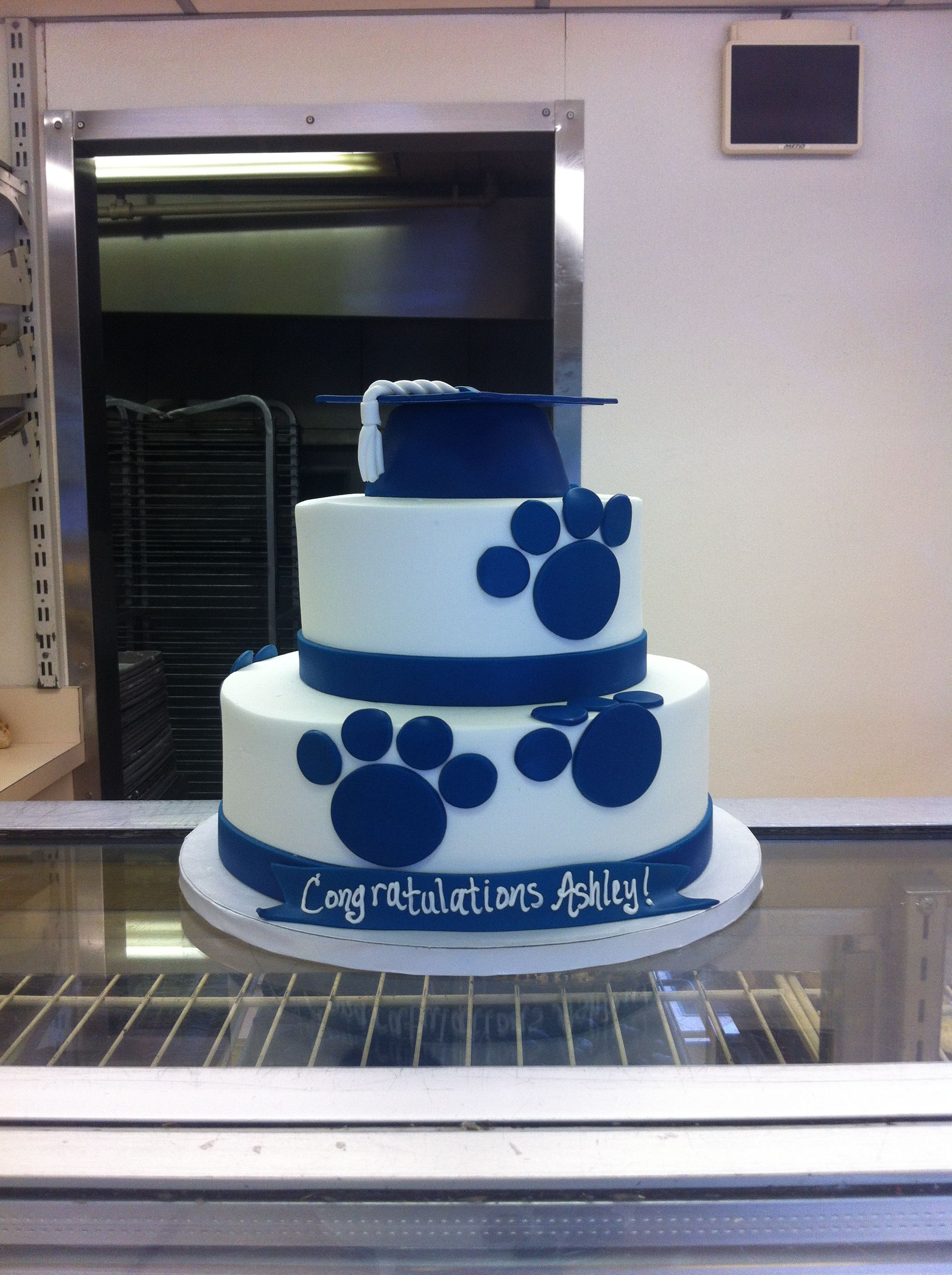 My PSU graduation cake! By Belmont Bakery