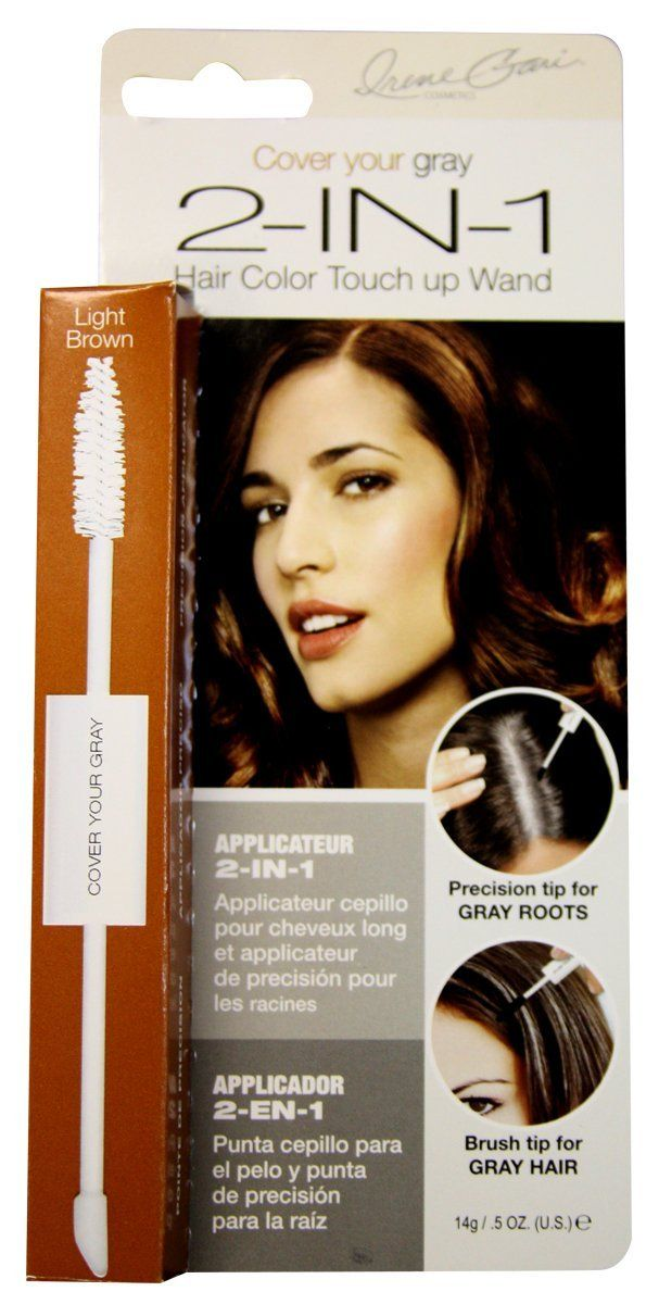 Cover Your Gray Hair Coloring 2 In 1 Light Brown Blonde 5 Oz Pack Of 2 This Is An Amazon Affiliate Link Click I Hair Color Grey Hair Color Hair Mascara