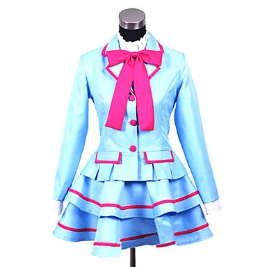 Cosplay Costume Inspired by Suite PreCure�?Private Aria Academy Junior High School Girls' Uniform