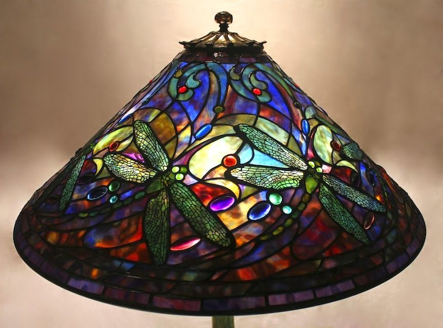 The Large Tiffany Shade Designs Are Masterpieces Of Century Decorative Arts  Design. Always Impressive, These Larger Lamp Designs Are Very Adaptable For  Use ...