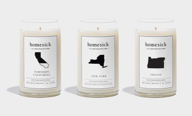 Homesick Candles Fill Your House With the Smell of Home