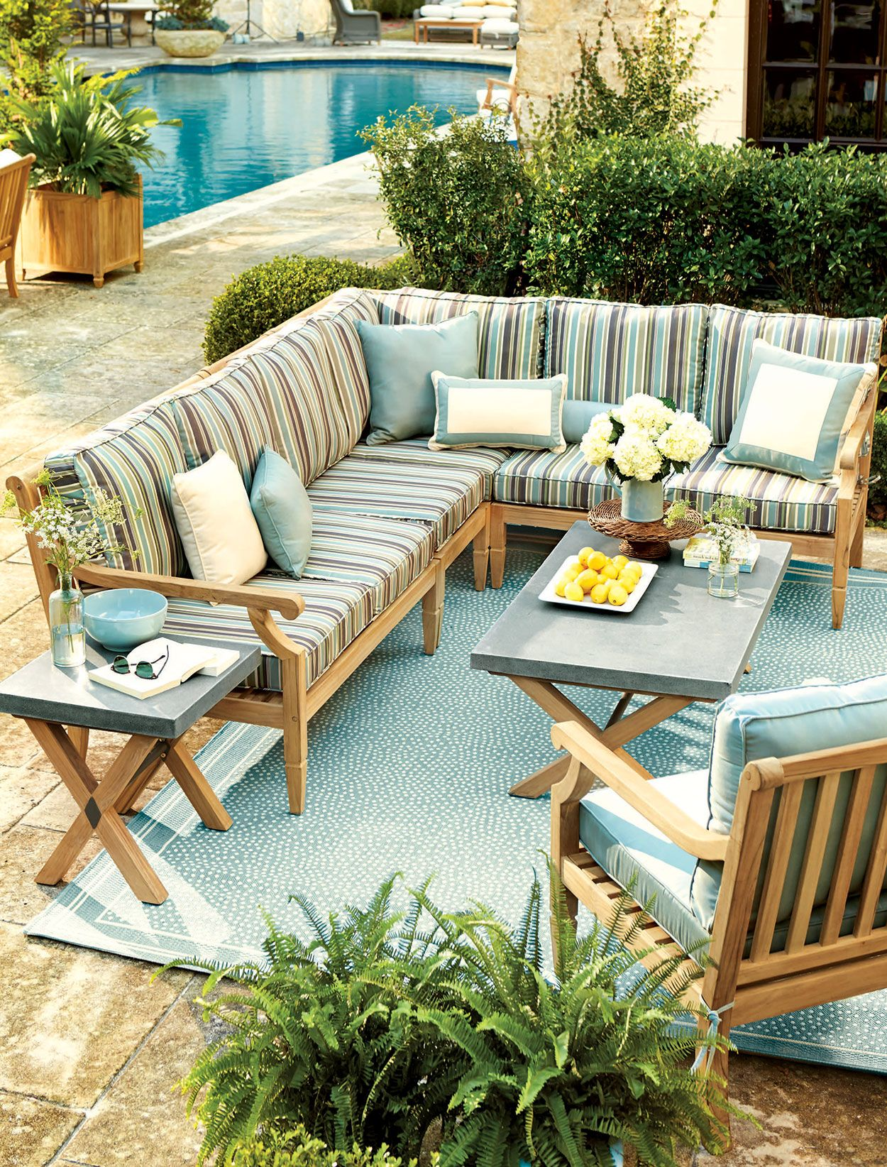 Outdoor Spaces Rug Size Pinterest