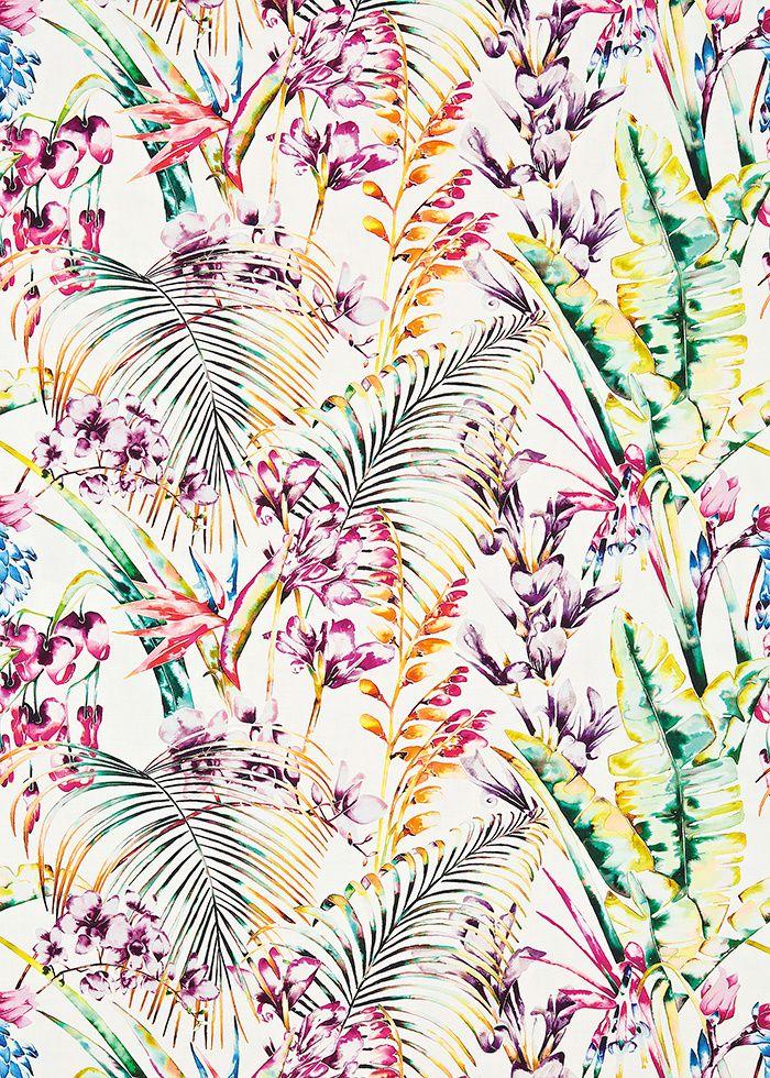 Nature psych d lique tissus tapisseries et papiers for Papier peint ecran