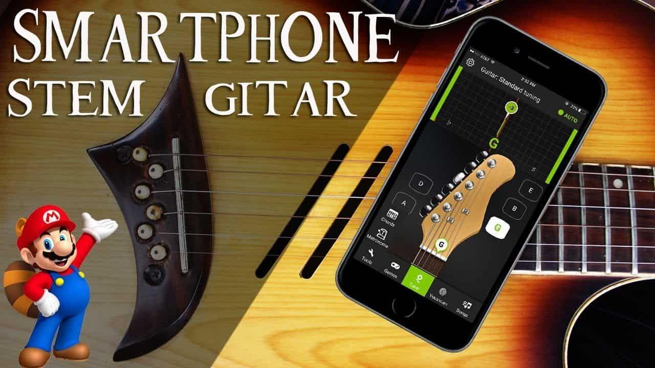 Cara Mudah Menyetel Menyetem Gitar Dengan Aplikasi Android Gitar Android Aplikasi Android