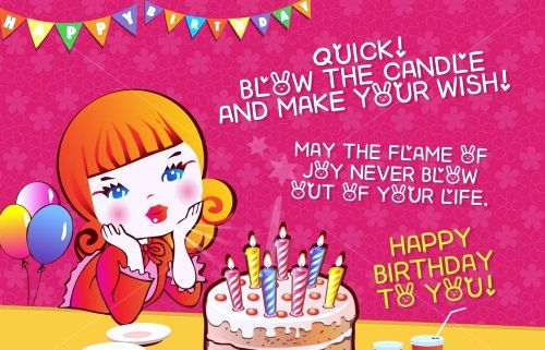 happybirthdaywishesFriend2 Words to Live By – Birthday Greeting to Friends