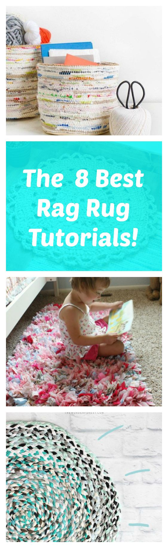 Have you ever tried making a rag rug? They are perfect for recycling old clothes and fabrics, and are easy to make. Fall is a great time to cozy up with a new crafting project like this! Here are s…