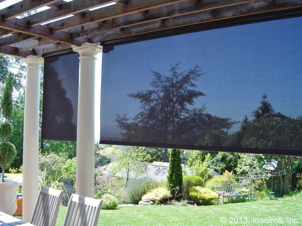 Insolroll\'s Oasis® Patio Shades are designed for versatility with ...
