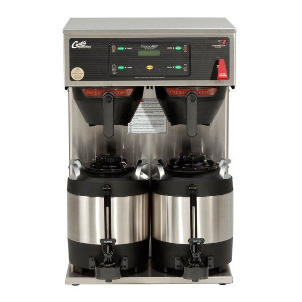 Photo of Curtis TP1T19A1000 ThermoPro Twin 2 Gallon Coffee Brewer – 220V, 3 Phase